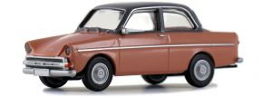 BREKINA 27725 DAF 750 hellrot dunkelgrau | Automodell 1:87 kaufen