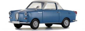 BREKINA 27850 Goggomobil Coupé blau weiss | Automodell 1:87 kaufen