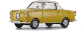 BREKINA 27853 Goggomobil Coupé gelb weiss | Automodell 1:87 kaufen
