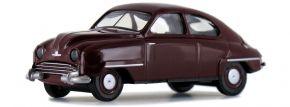 BREKINA 28600 Saab 92 dunkelrot | Automodell 1:87 kaufen
