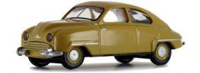 BREKINA 28604 Saab 92 dunkelgelb | Automodell 1:87 kaufen
