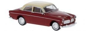 BREKINA 29216 Volvo Amazon 2-trg dunkelrot hellbeige 1956 | Modellauto 1:87 kaufen