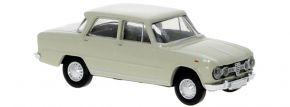 BREKINA 29525 Alfa Romeo Giulia 1600 hellgrau 1962 | Modellauto 1:87 kaufen