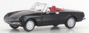 BREKINA 29606 Alfa Romeo Spider schwarz | Auto-Modell 1:87 kaufen