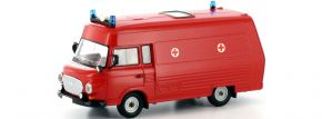 BREKINA 30405 Barkas B 1000 SMH 3 Feuerwehr Blaulichtmodell 1:87 kaufen