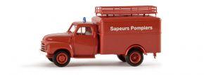 BREKINA 35321 Opel Blitz Koffer Sapeurs Pompiers | Blaulichtmodell 1:87 kaufen