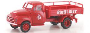 BREKINA 35329 Opel Blitz Pritsche Blattl Bier | LKW-Modell 1:87 kaufen