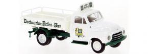 BREKINA 35339 Opel Blitz Bierpritsche Dortmunder Actien-Bier 1952   LKW-Modell 1:87 kaufen