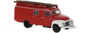 BREKINA 35402 Opel Blitz LF 8 rot weiss 1952   Blaulichtmodell 1:87 kaufen