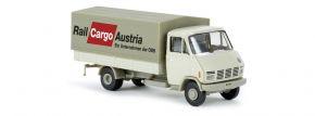 BREKINA 37727 Steyr 590 PritschePlane Railcargo Austria ÖBB LKW-Modell 1:87 kaufen