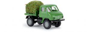 BREKINA 39029 Unimog U411 mit Heuladung Landwirtschaftsmodell 1:87 kaufen