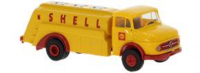 BREKINA 47036 Mercedes L 322 Tankwagen Shell   LKW-Modell 1:87 kaufen