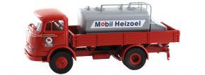 BREKINA 48030 MB LP 328 Aufsatz-Tank Mobil Heizöl | LKW-Modell 1:87 kaufen