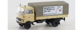 BREKINA 48574 Mercedes LP 608 PP DRK Altkleidersammlung | LKW-Modell 1:87 kaufen