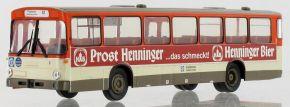 BREKINA 50643 Mercedes O 307 1975, Frankfurt - Henninger Bier | Busmodell 1:87 kaufen