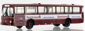 BREKINA 50645 Mercedes O 307 Überlandbus 1972, DB - Sparkasse | Busmodell 1:87 kaufen