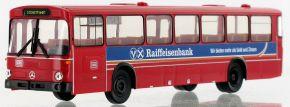 BREKINA 50646 Mercedes O 307 Überlandbus, 1985, DB - Raiffeisenbanken | Busmodell 1:87 kaufen