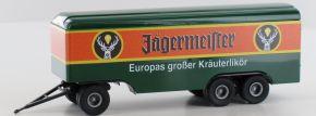 BREKINA 55293 Anhänger 3achs Koffer Jägermeister   Anhänger 1:87 kaufen