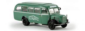 BREKINA 58006 Steyr 380/II Werkstattwagen Schwarzbau  Busmodell 1:87 kaufen