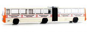 BREKINA 59705 Ikarus 280 Gelenkbus Chemnitz Bild-Zeitung | Bus-Modell 1:87 kaufen