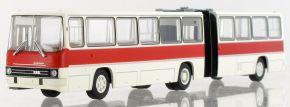 BREKINA 59754 Ikarus 280.03 Gelenkbus weiss, hellrot, 1976 | Busmodell 1:87 kaufen