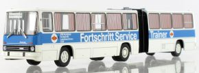 BREKINA 59756 Ikarus 280.03 Gelenkbus 1976, Fortschritt Service VEB Kombinat | Busmodell 1:87 kaufen