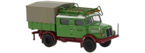 BREKINA 71758 IFA S 4000-1 Bautruppwagen Deutsche Reichsbahn 1960 | LKW-Modell 1:87 kaufen