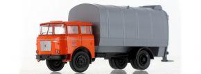 BREKINA 71876 LIAZ 706 Müllwagen 1970, Stadtwirtschaft Rostock   LKW-Modell 1:87 kaufen