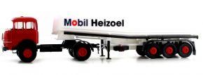 BREKINA 84132 Krupp SF 980 Ovaltank-Sattelzug Mobil Heizöl | LKW-Modell kaufen