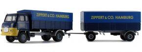 BREKINA 85054 Scania LB 76 PP-Zug Zippert | LKW-Modell 1:87 kaufen