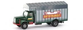 BREKINA 85132 Scania L 111 Großraumaufbau Autotransit | LKW-Modell 1:87 kaufen