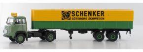 BREKINA 85152 Scania LB 76 Pritsche-Plane-Sattelzug Schenker Göteborg LKW-Modell 1:87 kaufen