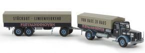 BREKINA 86209 Faun L 8 L PP-Zug Freyaldenhoven | Modell-Lkw 1:87 kaufen