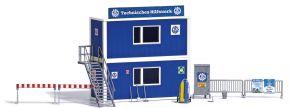 BUSCH 1029 THW Container Set Bausatz Spur H0 kaufen