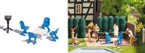BUSCH 1189 Gartenmöbel-Set Bausatz 1:87 kaufen
