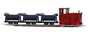 BUSCH 12006 Feldbahn Startset mit drei Kipplohren Spur H0f kaufen