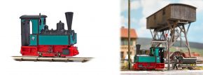 BUSCH 12141 Dampflok Decauville Typ 3 Feldbahnlok Spur H0f kaufen