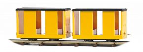 BUSCH 12265 Mannschaftswagen 2 Stück Feldbahn Spur H0f kaufen