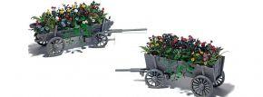 BUSCH 1228 Leiterwagen mit Blumen | Spur H0 kaufen