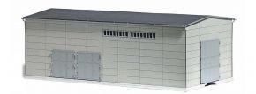 BUSCH 1398 Betonfertighalle mit Gleisanschluss LaserCut Bausatz Spur  H0 kaufen