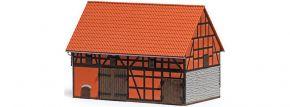 BUSCH 1506 Scheune mit kleinem Stall | Gebäude Spur H0 kaufen