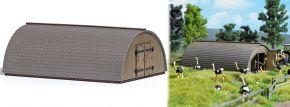BUSCH 1513 Runddach-Stall LaserCut Bausatuz Spur H0 kaufen
