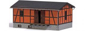 BUSCH 1555 Verladeschuppen | Gebäude Bausatz Spur H0 kaufen
