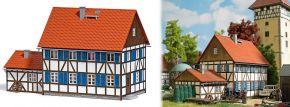 BUSCH 1600 Wohnhaus mit Anbau LaserCut Bausatz Spur H0 kaufen