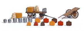 BUSCH 1625 Gepäckkarren mit Zubehör 2 Stück LaserCut Bausatz H0 kaufen