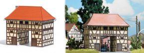 BUSCH 1650 Torhaus Ickelheim LaserCut Bausatz 1:87 kaufen