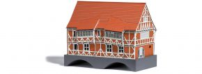 BUSCH 1656 Brückenhaus Wismar LaserCut Bausatz 1:87 kaufen