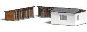 BUSCH 1671 Tierheim | Laser-Cut | Gebäude Bausatz Spur H0 kaufen