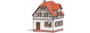 BUSCH 1672 Arbeiterhaus  LaserCut Bausatz Spur H0 kaufen