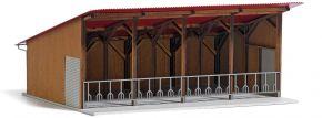 BUSCH 1902 Moderner Offenstall   Gebäude Bausatz Spur H0 kaufen